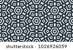 abstract geometric pattern.... | Shutterstock .eps vector #1026926059