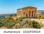 Temple Of Concordia  Located I...