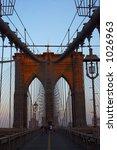 manhattan bridge  new york... | Shutterstock . vector #1026963