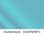 blue violet dotted halftone....   Shutterstock .eps vector #1026969871