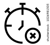 time watch clock icon | Shutterstock .eps vector #1026981505