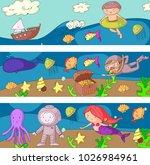 sea and ocean adventure... | Shutterstock .eps vector #1026984961