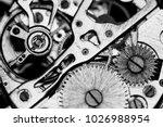 mechanical watch  close up ... | Shutterstock . vector #1026988954
