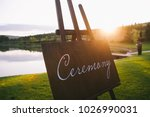 inscription ceremony on a... | Shutterstock . vector #1026990031