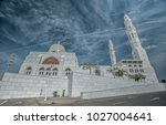 beautiful white marble with 3... | Shutterstock . vector #1027004641