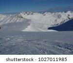 alps mountain range in winter | Shutterstock . vector #1027011985