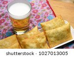 bar food  tray with typical... | Shutterstock . vector #1027013005
