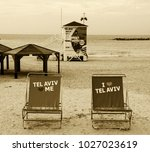 tel aviv  israel   december 28  ... | Shutterstock . vector #1027023619