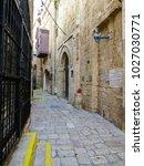 tel aviv  israel   january 2 ... | Shutterstock . vector #1027030771