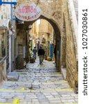 tel aviv  israel   january 2 ... | Shutterstock . vector #1027030861