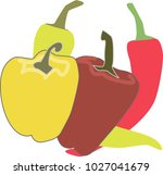 vegetables  plants that are... | Shutterstock .eps vector #1027041679