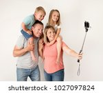 lovely young couple taking...   Shutterstock . vector #1027097824