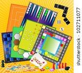 board games  a set | Shutterstock . vector #102711077