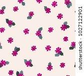 seamless folk pattern in small... | Shutterstock .eps vector #1027122901