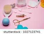 baby care things   Shutterstock . vector #1027123741