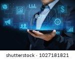 b2b business company commerce... | Shutterstock . vector #1027181821