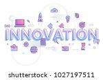 "flat design typography concept ""...   Shutterstock .eps vector #1027197511"