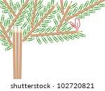 vector illustration of a tree...   Shutterstock .eps vector #102720821