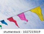 holiday decoration  buddhist... | Shutterstock . vector #1027215019