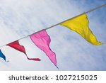 holiday decoration  buddhist... | Shutterstock . vector #1027215025