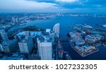 hight view of yokohama... | Shutterstock . vector #1027232305