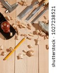 diy concept. woodworking and...   Shutterstock . vector #1027238521