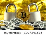 physical version of bitcoin ... | Shutterstock . vector #1027241695