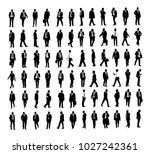 large collection of business... | Shutterstock .eps vector #1027242361