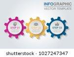 vector infographic template for ...   Shutterstock .eps vector #1027247347
