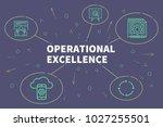 conceptual business... | Shutterstock . vector #1027255501