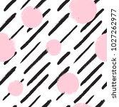diagonal brush strokes and... | Shutterstock .eps vector #1027262977