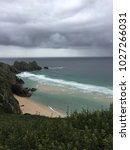 penefounder beach  cornwall  | Shutterstock . vector #1027266031