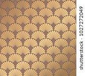 art deco pattern. golden...   Shutterstock .eps vector #1027272049