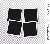 illustration of instant photo... | Shutterstock . vector #1027275139