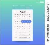 calendar app with to do list...