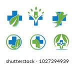 medical health wellness clinic... | Shutterstock .eps vector #1027294939