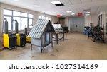 welding workshop and iron... | Shutterstock . vector #1027314169