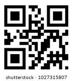 qr code vector  | Shutterstock .eps vector #1027315807