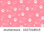 baby background with bears   Shutterstock . vector #1027318015