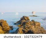 rocks on the beach  rocks in... | Shutterstock . vector #1027322479