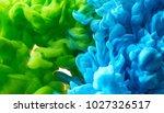 ink in water background | Shutterstock . vector #1027326517