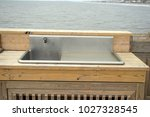 folly beach south carolina ... | Shutterstock . vector #1027328545