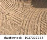 sand beach sea | Shutterstock . vector #1027331365