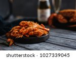 Close Up Of Ready Made Shrimps...