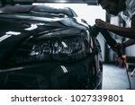 car detailing   hands with... | Shutterstock . vector #1027339801