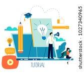 professional training ... | Shutterstock .eps vector #1027340965