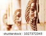 persepolis is the ancient city... | Shutterstock . vector #1027372345