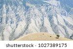 red lodge  montana  usa. rugged ...   Shutterstock . vector #1027389175