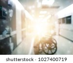 blurred hospital background... | Shutterstock . vector #1027400719