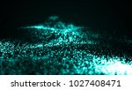particles explosion.... | Shutterstock . vector #1027408471